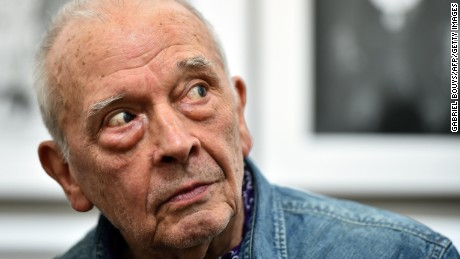 Caption:British photographer David Bailey poses during the private preview of the exhibition 'Stardust' on February 28, 2015 in Milan. The show will run from March 1st to June 2, 2015 at the PAC museum (Contemporary Art Pavillon) in Milan. AFP PHOTO / GABRIEL BOUYS (Photo credit should read GABRIEL BOUYS/AFP/Getty Images)