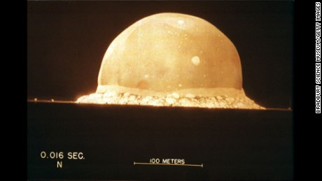 The United States Detonates World39s First Atomic Bomb At A Test