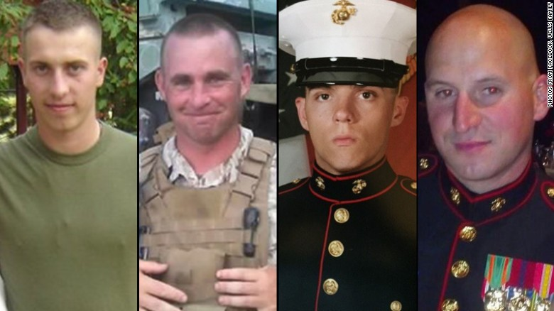 City mourns four Marines killed in Chattanooga