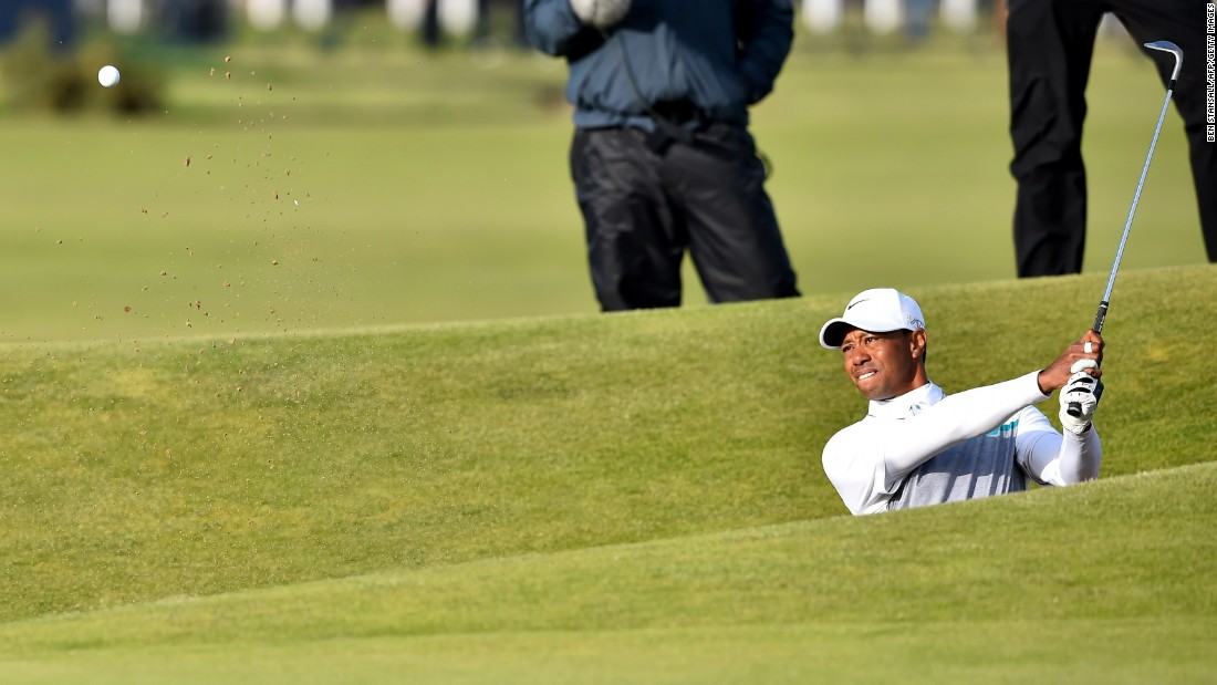 In July 2015, Woods missed the cut at the British Open for just the second time in his illustrious career.