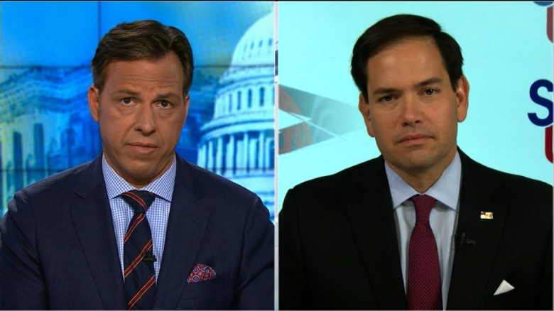 Rubio: Trump disqualified as Commander in Chief
