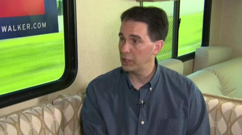 Scott Walker talks immigration, abortion