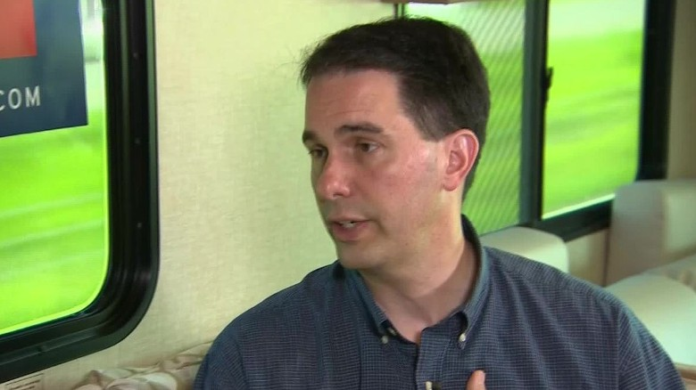 Scott Walker talks about his faith