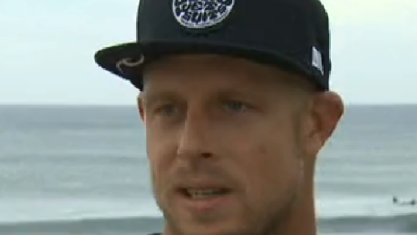 Mick Fanning is a champion surfer from Australia.