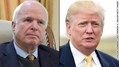 Trump and McCain's never-ending back and forth