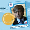 FIFA scandal collector cards Harold Mayne-Nicholls