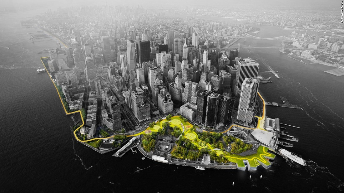 New York faces increasing threats from hurricanes, storms and flooding. A new $335 million project is being implemented to disaster-proof the metropolis.