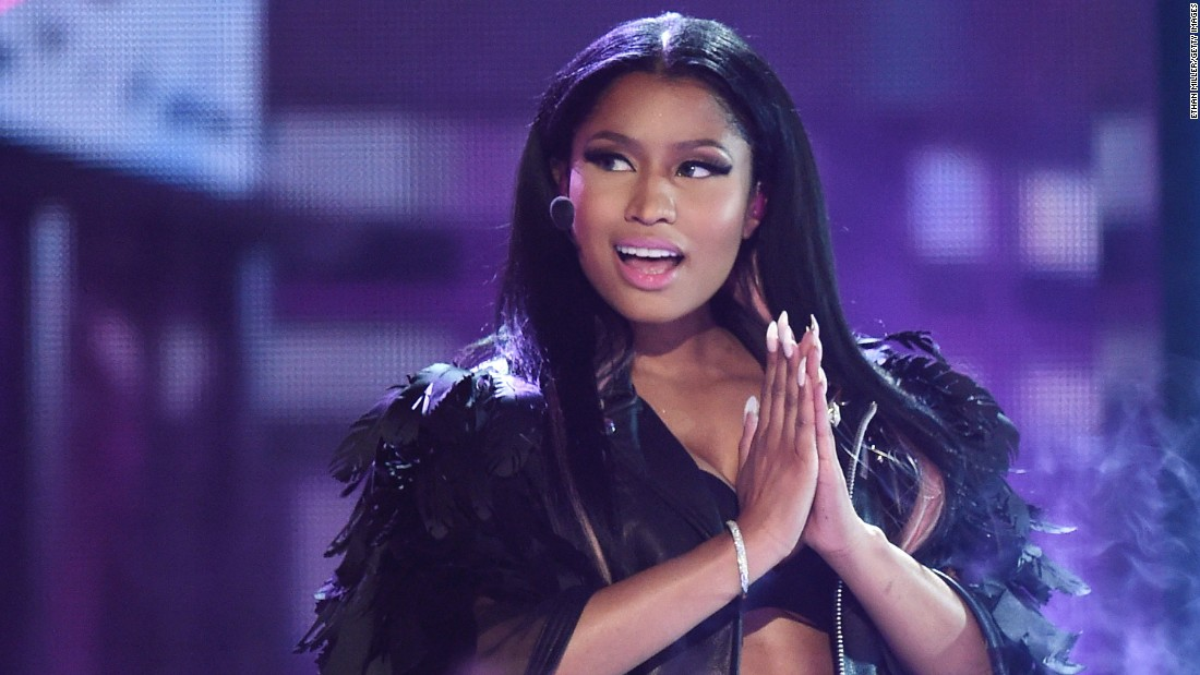 Nicki Minaj is another artist of the year nominee. She received three nominations in total.
