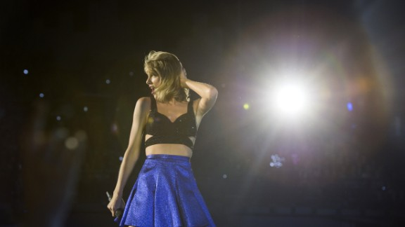 "Best pop video: Taylor Swift (pictured), ""Blank Space""; Beyoncé, ""7/11""; Ed Sheeran, ""Thinking Out Loud""; Mark Ronson feat. Bruno Mars, ""Uptown Funk""; Maroon 5, ""Sugar."""