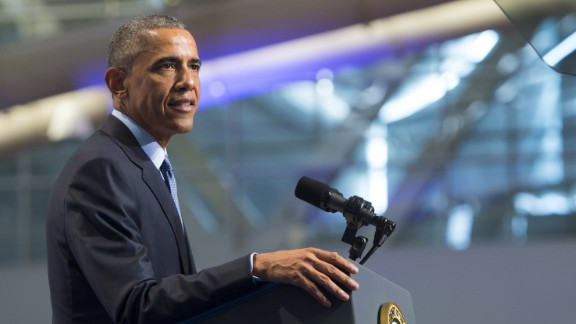 U.S. President Barack Obama speaks at the 116th National Convention of the Veterans of Foreign Wars (VFW) at the David Lawrence Convention Center in Pittsburgh, Pennsylvania, July 21, 2015.