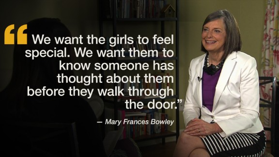 Mary Frances Bowley is the founder of Wellspring Living, an organization fighting child sexual abuse and exploitation. She has been a leader in bringing the fight against child sex trafficking to Atlanta and runs one of the country's largest safe-homes dedicated entirely to human trafficking survivors.