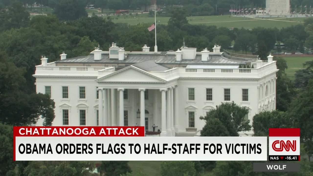 Pleasant White House U S Capitol Flags Lowered To Half Staff Cnn Download Free Architecture Designs Scobabritishbridgeorg