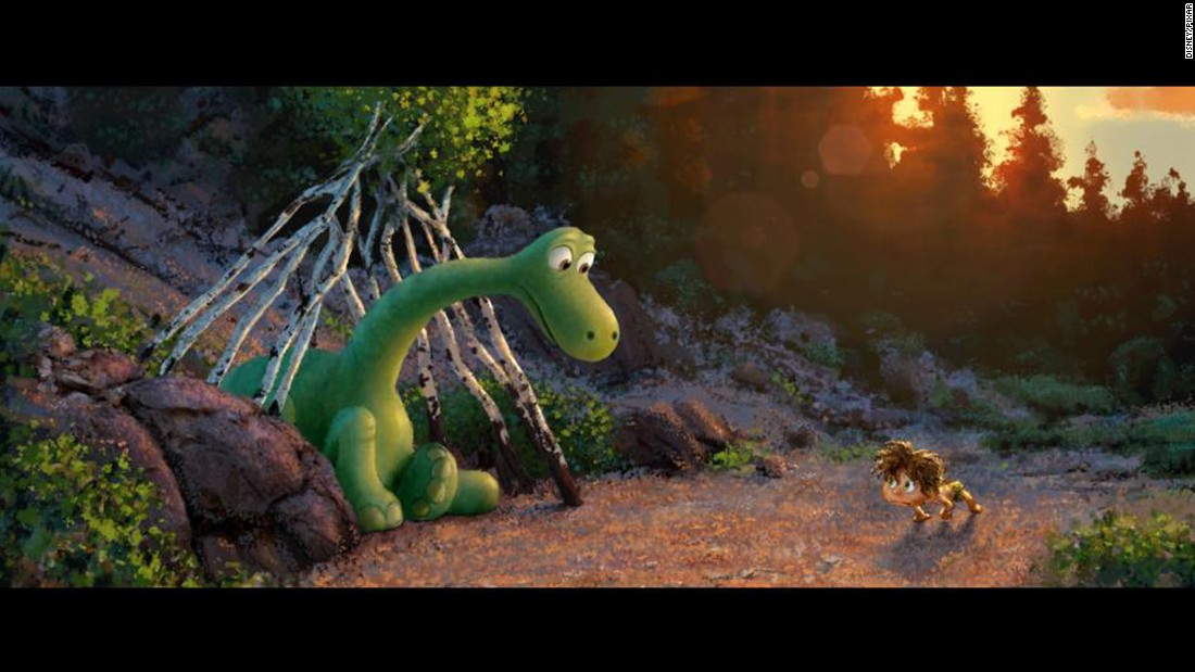 "A lovable dino is the star of Disney-Pixar's ""The Good Dinosaur,"" which takes place in a world where dinosaurs never went extinct. Click through for more movie dinosaurs."
