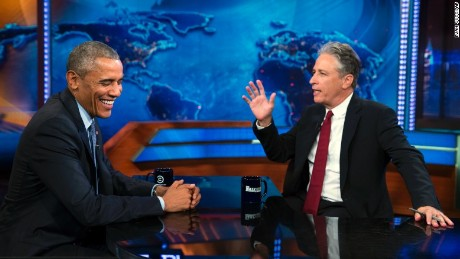 Obama's last 'Daily Show'