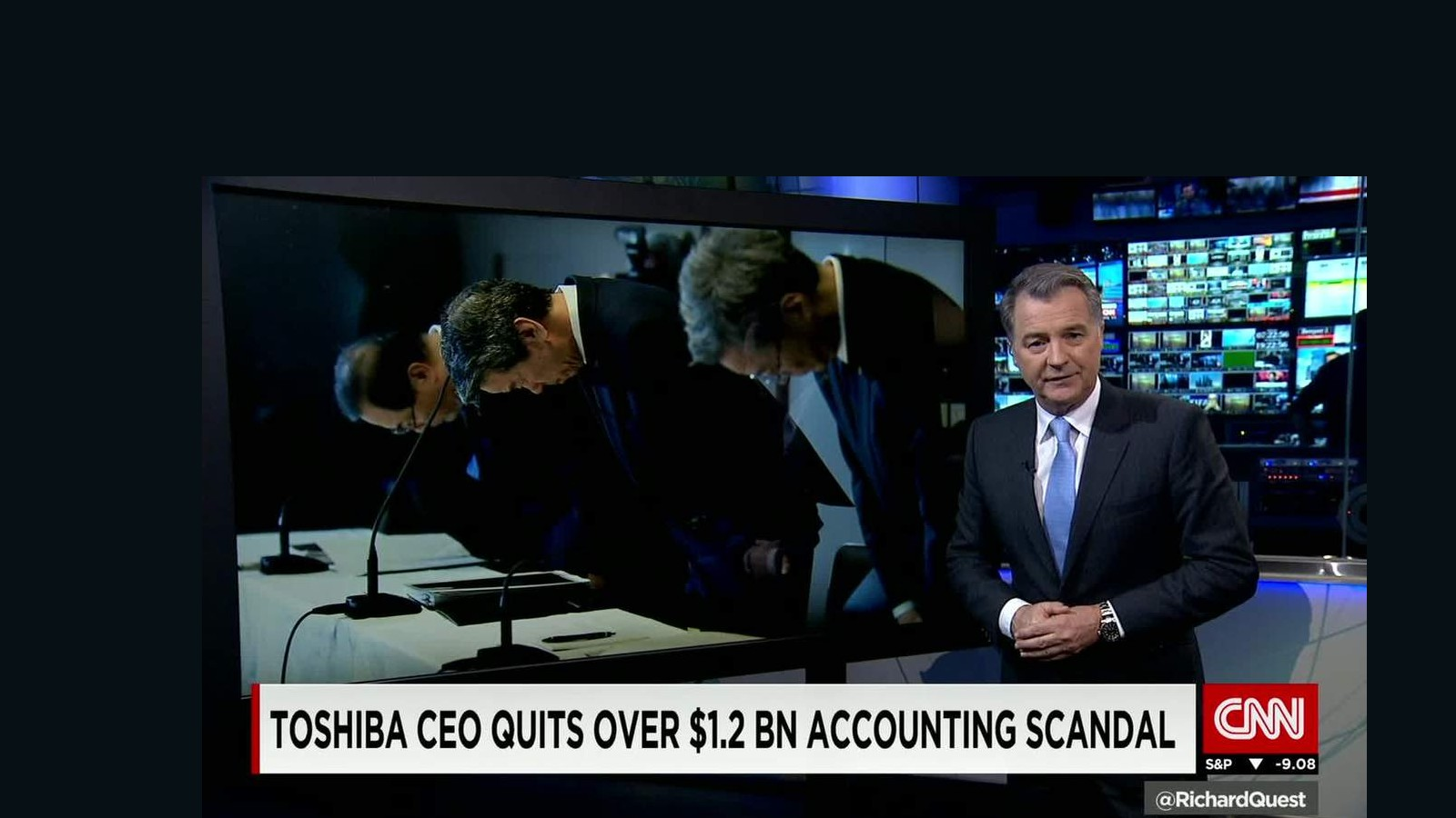 toshiba scandal A group of investors, mostly foreign institutions, are suing toshiba in a tokyo court for 167 billion yen ($1623 million) in damages, over a $13 billion accounting scandal uncovered last year.