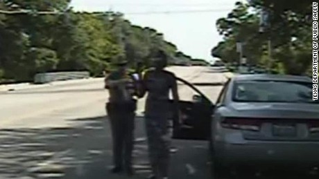 Video of Sandra Bland's traffic stop