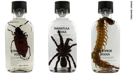 Centipede vodka and fried crickets: Is this the future of food?