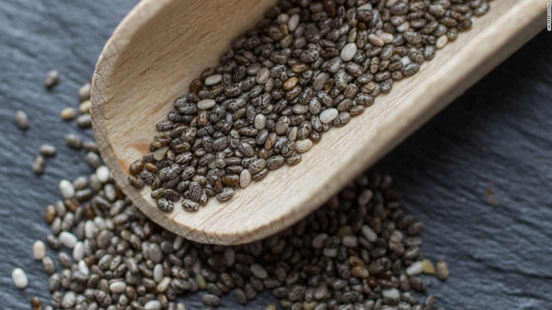 Chia seeds can be used to help lower high LDL cholesterol levels.
