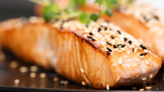 Salmon is one of the best dietary sources of omega-3 fatty acids. These essential fats are an important part of treating any inflammatory or autoimmune condition, according to experts.