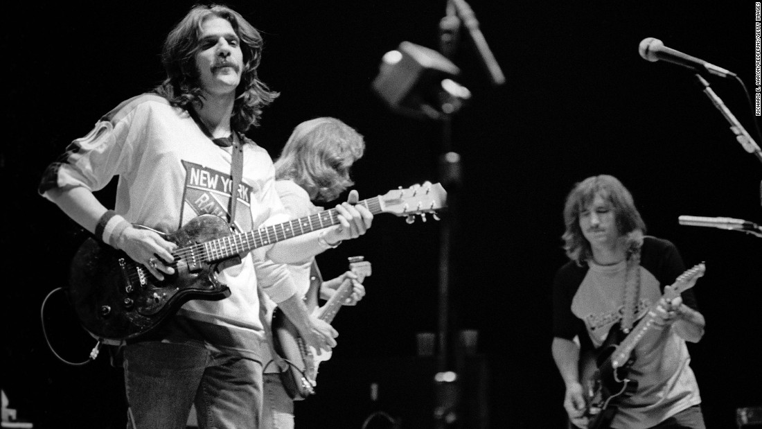 "This quintessential '70s band gave us classics like ""Hotel California,"" ""Take It Easy"" and ""Desperado."" The band's success has placed it on such lists as Rolling Stone's 500 Best Albums of All Time and the 100 Greatest Artists of All Time."