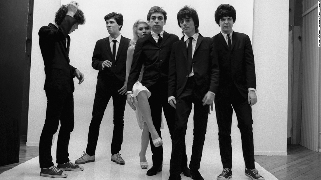 "A mainstay of New York's vibrant punk and new-wave scenes in the mid '70s, Blondie broke out in 1978 with the reggae- and disco-infused ""Heart of Glass"" off its third album, ""Parallel Lines."" Lead singer Debbie Harry used her powerful voice, punk attitude and unapologetically glamorous personal style to create a new archetype for women in rock."