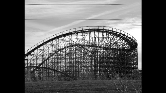 A Six Flags theme park in New Orleans was flooded during Katrina.