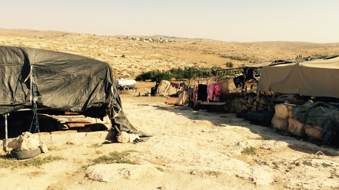 Israeli authorities have denied the villagers permission to build. They say the village does not have proper infrastructure, and those who live here don't own the land.