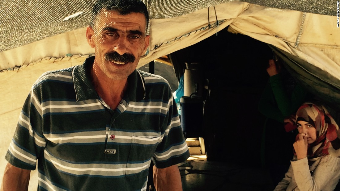 "Azam Nawaja, a father of seven and grandfather of five, insists that if Susiya is torn down, it will be rebuilt: ""Every time they demolish it we will build again ... It only gives us more power and strength and determination to remain."""