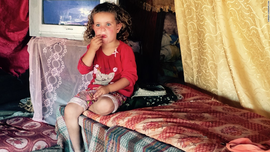 The international community has called on Israel to halt its plans to evict families like that of five-year-old Jana Nawaja from their homes.