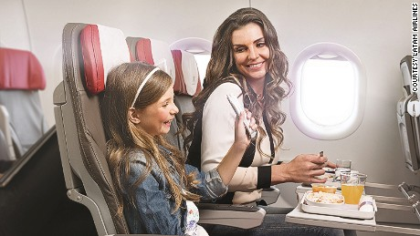 "Last year South American airline, LATAM, served over 30,000 kids' meals that were ""Free of excess fat and high calories,"" says the LATAM's Executive Chef, Hugo Pantano."