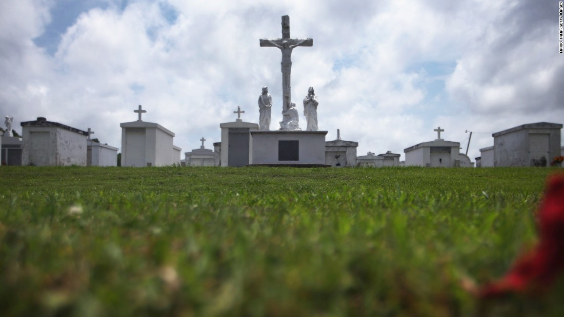 The cemetery on May 16, 2015.