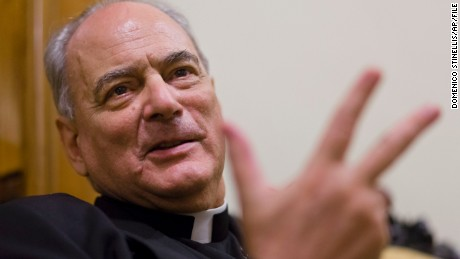 Bishop Marcelo Sanchez Sorondo is chancellor of the Pontifical Academy of Sciences.