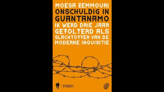 "Moussa Zemmouri's book ""Innocent at Quantanamo,"" the Dutch vesion."
