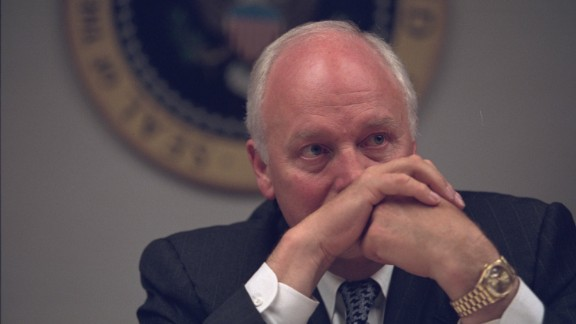 Then-Vice President Dick Cheney in the President