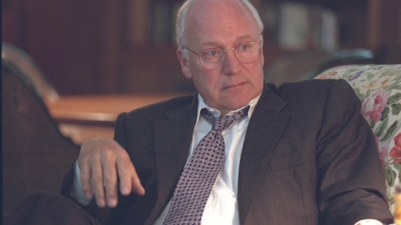"""Cheney, shown here at Camp David on September 11, 2001. A year later, he recalled to CNN's John King:  """"As we lifted off and headed up the Potomac [River], you could look out and see the Pentagon, see that black hole where it'd been hit. A lot of lights on the building, smoke rising from the Pentagon. And you know, it really helped to bring home the impact of what had happened, that we had in fact been attacked."""""""