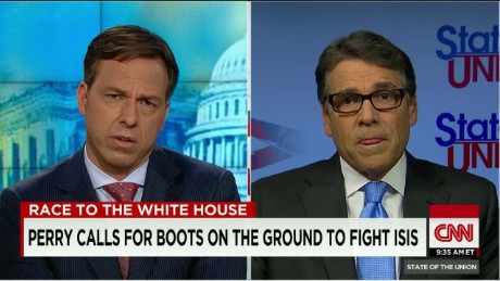 SOTU Tapper: Perry on deploying troops: 'I know the cost of war'_00011315.jpg