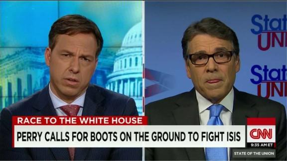 SOTU Tapper: Perry on deploying troops: