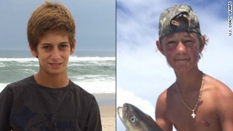 Search for missing teens enters fifth day, spans three states