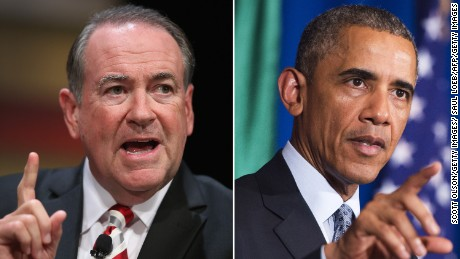 Obama on Huckabee: 'It'd be considered ridiculous if it wasn't so sad'