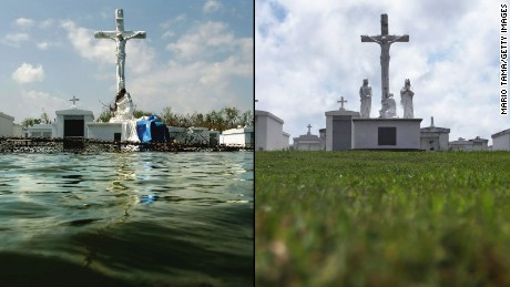 Hurricane Katrina: Then and now