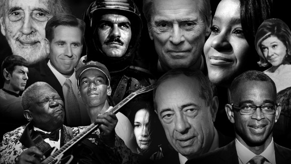 Look back at people who died in 2015.