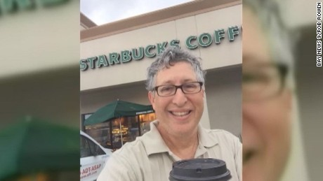 man banned from starbucks for life customer tampa handicap parking_00000225