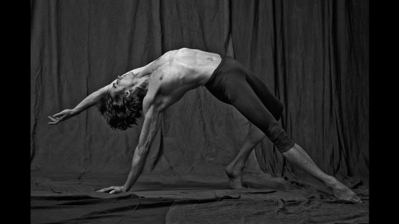 """""""I photographed them more like athletes than pure dancers,"""" Brookes said. """"It wasn"""