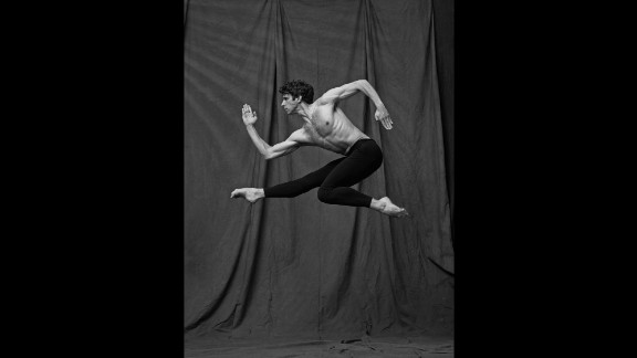 It is the intersection of two art forms -- dance and photography -- that makes Brookes