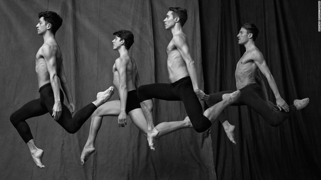 "Ballerinas may get more of the press, but <a href=""http://www.cnn.com/2015/08/04/world/cnnphotos-paris-ballet-dancers/index.html"" target=""_blank"">Matthew Brooke focused his lens</a> on the men of the Paris Opera Ballet: ""What incredible athletes and artists they are,"" he said."