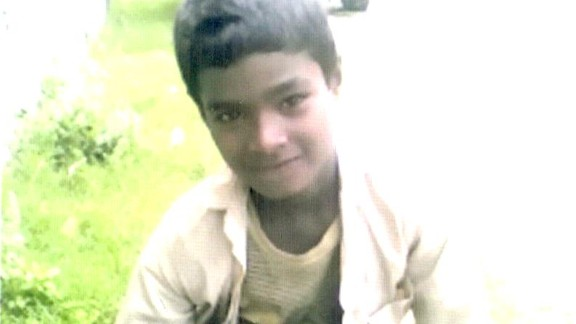 A photo of 10-year-old Jivan, whose body was found on July 24 on the outskirts of Kudiya village, in southwest Nepal. He'd been missing for three days.