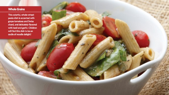 CLICK HERE FOR FULL RECIPE  Kids love oodles of noodles, so this top recipe is a perfect choice for a healthy lunch or dinner.   It was submitted by Chef Patsy Bentivegna and kid testers from Lincoln Junior High School in Skokie, Illinois.