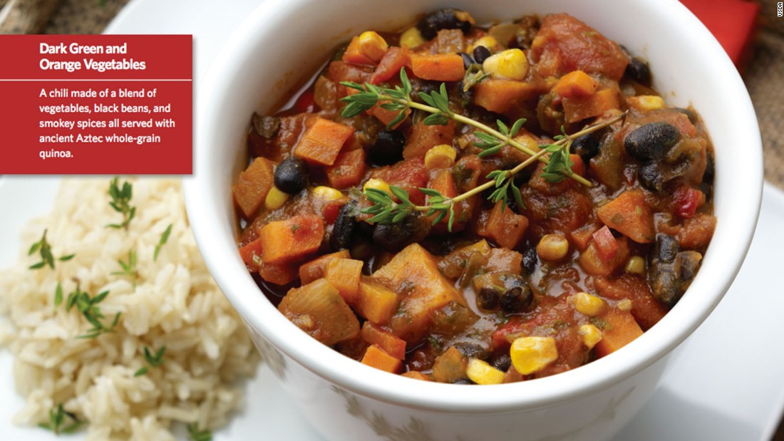 "<a href=""http://www.cnn.com/2015/08/05/health/smokin-powerhouse-chili-kids-recipe/index.html""><strong>CLICK HERE FOR FULL RECIPE</a></strong><br />It could almost be called rainbow chili, there's so many colors and textures in this belly-filling hot lunch, but kids will have fun saying that 'it's smokin'!"" Chef Jenny Breen worked hand in hand with kids and parents at Hopkins West Junior High School in Minnetonka, Minnesota, to create this crowd pleaser."