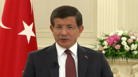 "In the fight against Kurdish separatists, Turkish Prime Minister Ahmet Davutoglu has said, ""We will not give in to terrorism."""