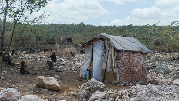Humanitarian groups worry what will happen to the people living in tents in drought-stricken southern Haiti if more refugees come.